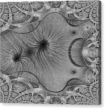 459 - Design Abstract 1 Canvas Print by Irmgard Schoendorf Welch