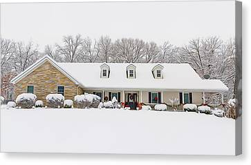 4632 Francis Winter Canvas Print by Bill Tiepelman