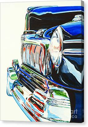 47 Mercury Canvas Print by Rick Mock