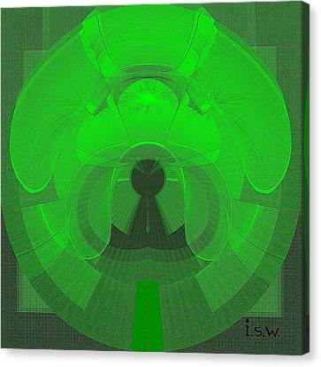 471 - The Keyhole Canvas Print by Irmgard Schoendorf Welch