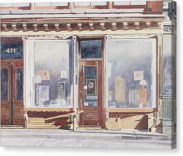 471 West Broadway Soho New York City Canvas Print by Anthony Butera