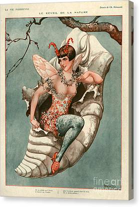 1920s France La Vie Parisienne Magazine Canvas Print by The Advertising Archives
