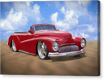 48 Buick Convertible Canvas Print