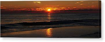 48 Degrees At The Beach Canvas Print