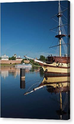 Russia, Novgorod Oblast, Veliky Canvas Print by Walter Bibikow