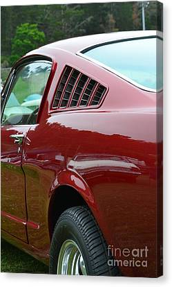 Classic Mustang Canvas Print by Dean Ferreira