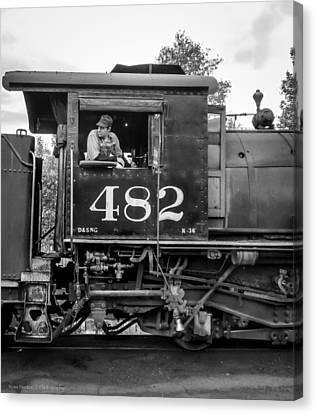 Canvas Print featuring the photograph 482 by Ross Henton