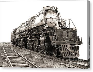 Canvas Print featuring the photograph 4884 Big Boy by Olivier Le Queinec