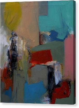 Canvas Print featuring the painting Figure by Fred Smilde