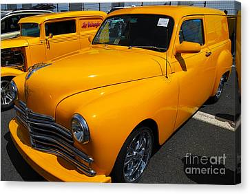 '49 Plymouth Sedan Delivery Canvas Print by Mark Spearman