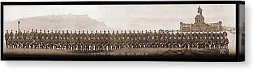4th Co. 3rd Corps. 1st Artillery Park Canvas Print