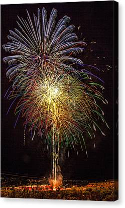 4th July #15 Canvas Print by Diana Powell
