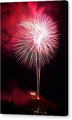 Canvas Print featuring the photograph 4th July Butte Mt 2013 by Kevin Bone