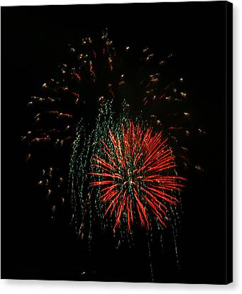 4th Of July 5 Canvas Print by Marilyn Hunt