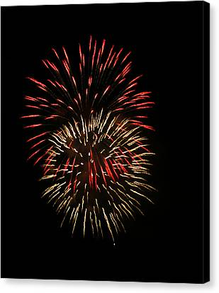 4th Of July 6 Canvas Print by Marilyn Hunt