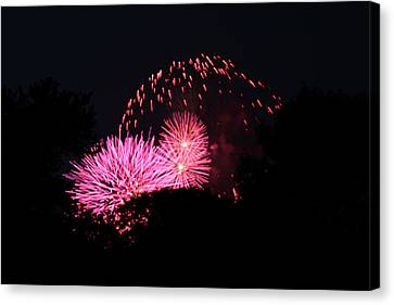 4th Of July Fireworks - 011325 Canvas Print by DC Photographer