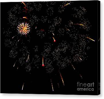 Canvas Print featuring the photograph 4th Of July by Jay Nodianos