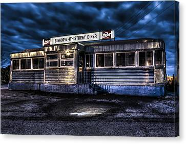 4th Street Diner Canvas Print