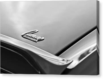 1969 Chevrolet Camaro Emblem Canvas Print by Jill Reger