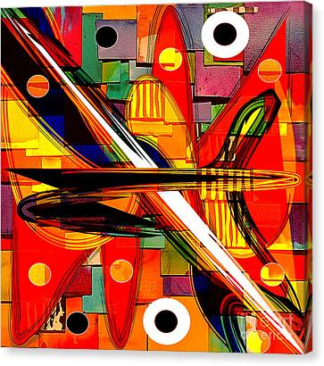 Backgrounds Canvas Print - Abstract Art Collection by Marvin Blaine