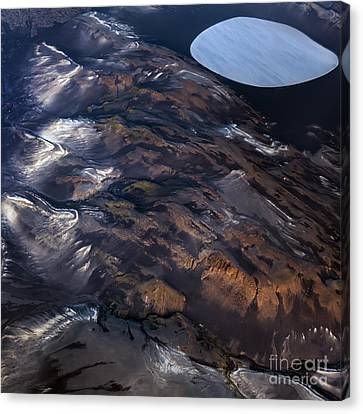 Aerial Photography Canvas Print by Gunnar Orn Arnason