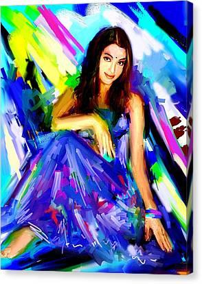 Aishwarya Rai Canvas Print