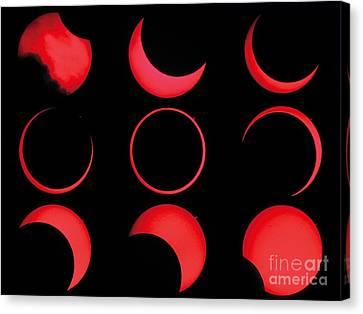 Annular Solar Eclipse Canvas Print