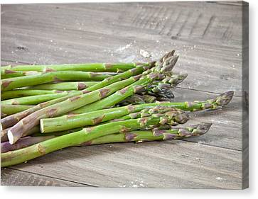 Asparagus Canvas Print by Tom Gowanlock