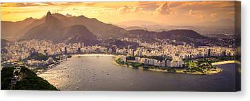 Aterro Do Flamengo Canvas Print by Celso Diniz