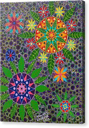 Ayahuasca Visions Canvas Print - Ayahuasca Vision by Howard Charing