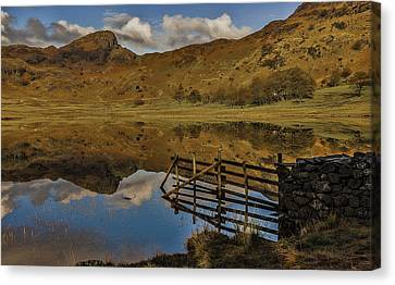 Blea Tarn Canvas Print by Trevor Kersley