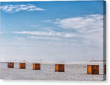 5 Box Canvas Print by Peter Tellone