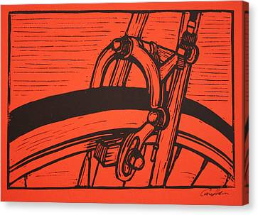 Brake Canvas Print by William Cauthern