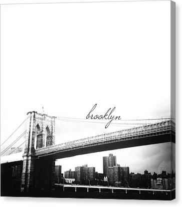 Brooklyn Canvas Print by Natasha Marco