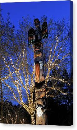 First Nations Canvas Print - Canada, British Columbia, Victoria by Kevin Oke