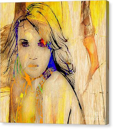Carrie Underwood Canvas Print