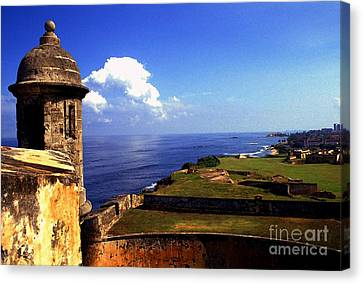 Castillo De San Cristobal Canvas Print by Thomas R Fletcher