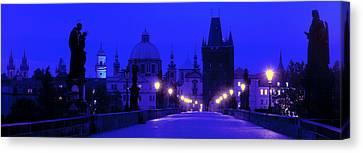 Charles Bridge, Prague, Czech Republic Canvas Print