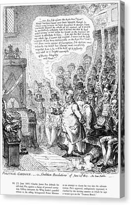 Charles Fox (1749-1806) Canvas Print by Granger