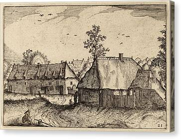 Claes Jansz Visscher After Johannes Van Doetechum Canvas Print