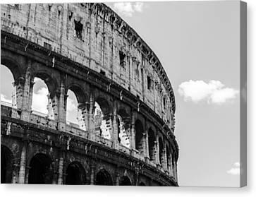 Colosseum - Rome Italy Canvas Print by Andrea Mazzocchetti