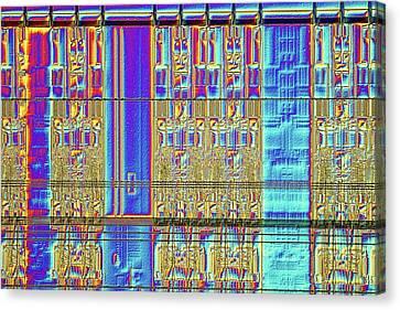 Computer Memory Chip Canvas Print