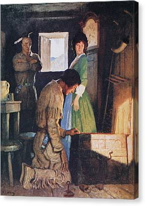 Cooper Deerslayer, 1925 Canvas Print by Granger