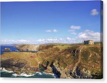 Cornwall - Tintagel Canvas Print by Joana Kruse