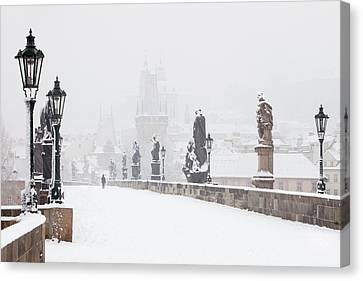 Czech Republic, Prague - Charles Bridge Canvas Print