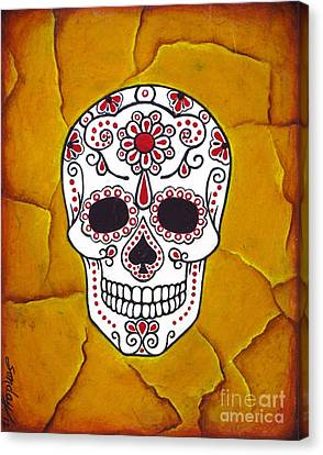 Day Of The Dead Canvas Print by Joseph Sonday