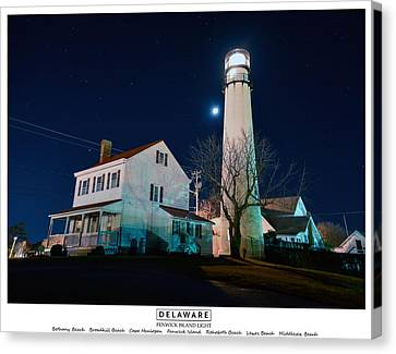 Delaware Canvas Print by American Roadside