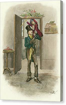 Dickens A Christmas Carol Canvas Print by Granger