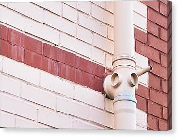 Drain Canvas Print - Drainpipe by Tom Gowanlock