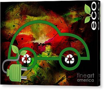 Eco Collection Canvas Print by Marvin Blaine